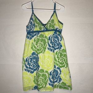 Aeropostale Cotton Sun Dress Bright Colors